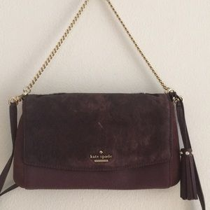 Kate Spade Calf Fur crossbody / shoulder purse